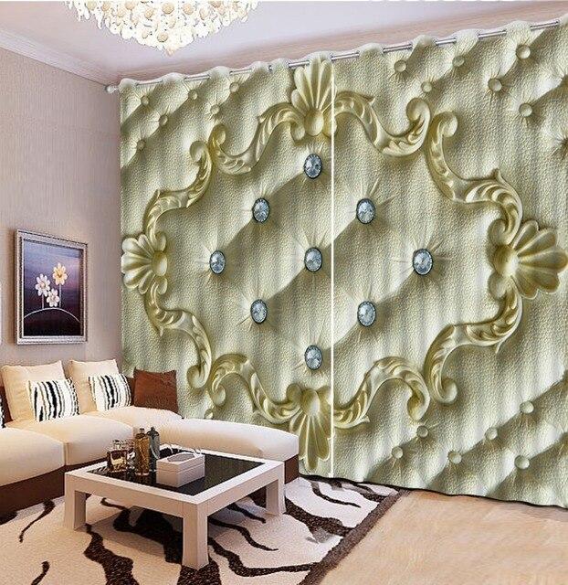 luxe gordijnen europese gordijnen keuken venster custom europese stijl gordijnen 3d woonkamer gordijnen cl dlm801