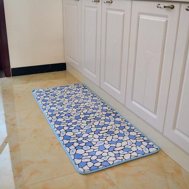 US $19.0 |50*120 cm Country style bibulo antiscivolo memory foam tappeto  Moderno soggiorno tappeti stuoia cucina tappetini outdoor e tappeti in  50*120 ...
