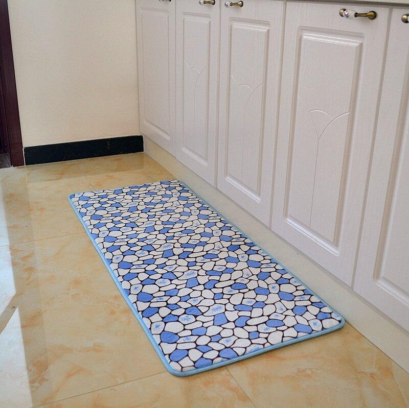 50*120cm Country Style Bibulous Antiskid Memory Foam Carpet Modern Living  Room Kitchen Mat Floor