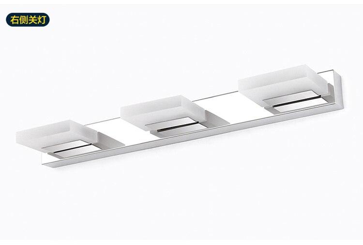 9 w 3 luce led applique da parete specchio del bagno lampada da