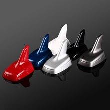 Alerón con forma de aleta de tiburón para Audi A3, A4, A6, A1, A5, A8, A4L, A6L, Q3, Q5, Q7, accesorio de antena de techo