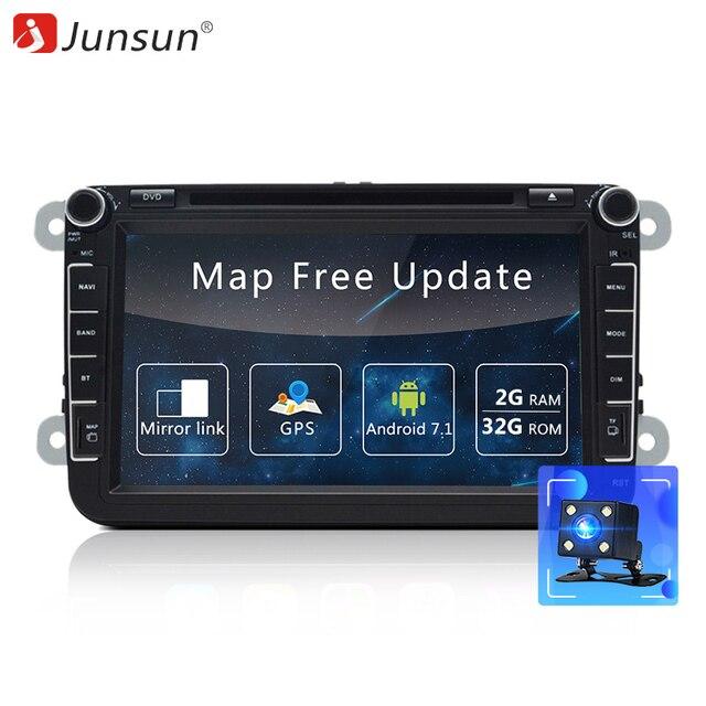 Junsun 2 Din Car Dvd Multimedia Player Android Gps Autoradio For