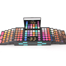 145 Color Shimmer Matte Eyeshadow Palette Women Cosmetics Blusher Pigment Eye Shadow