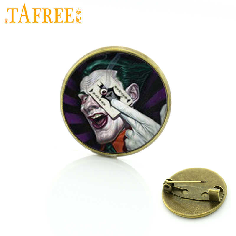 Tafree Magic Bros Superhero Joker Pin Fashion Perhiasan untuk Zelda Lencana T616