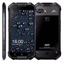 """AGM X2 IP68 Wasserdichte Handy Dual 12MP Hinten Kameras 16MP Vorne Snapdragon 653 6G + 64 GB 6000 mAh 5,5 """"FHD 4G Lte Staubdicht"""