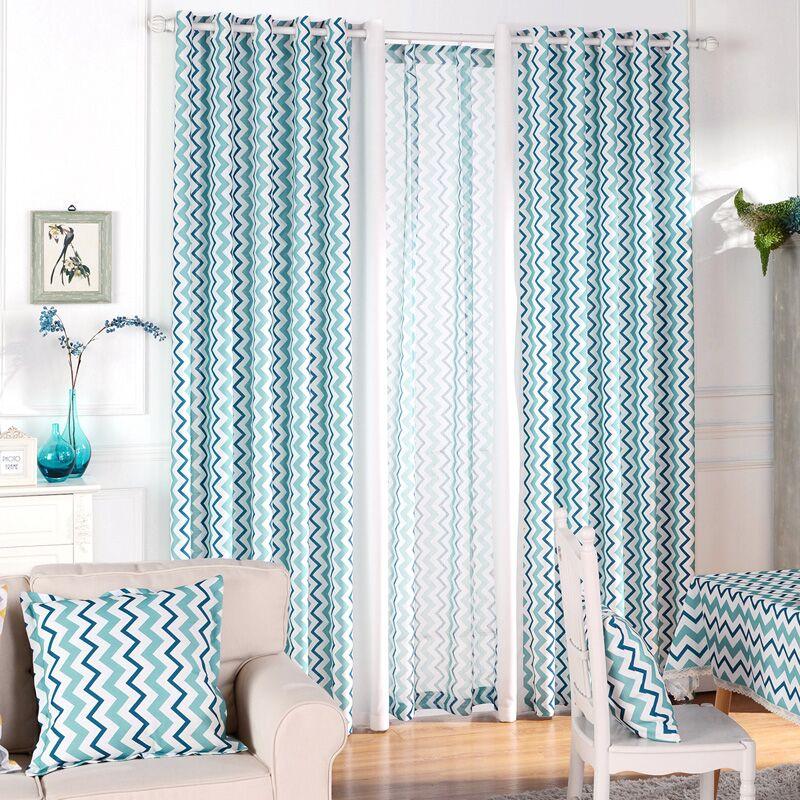 apagn cortina de la ventana para el dormitorio gruesas curtians azul tela separador de ambientes