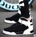 Zapatos hombre мужской высокое качество анти skid черный мужской обуви плюс размер повседневная прочный мужской обуви зашнуровать весна открытый обувь