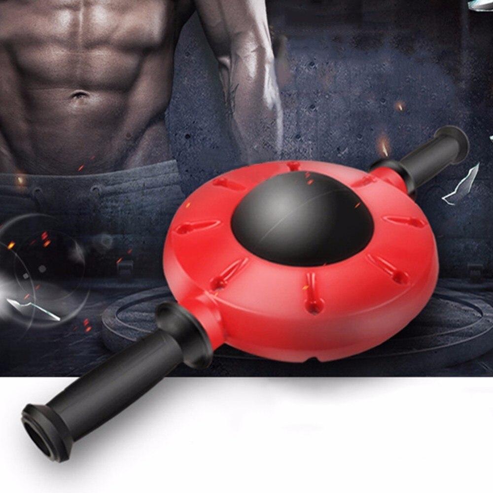 Gym Roller Esercizio Addominale Casa Attrezzature Per Il Fitness Formazione Ab Ruota Addominale Pancia Muscel Trainer 360 Gradi