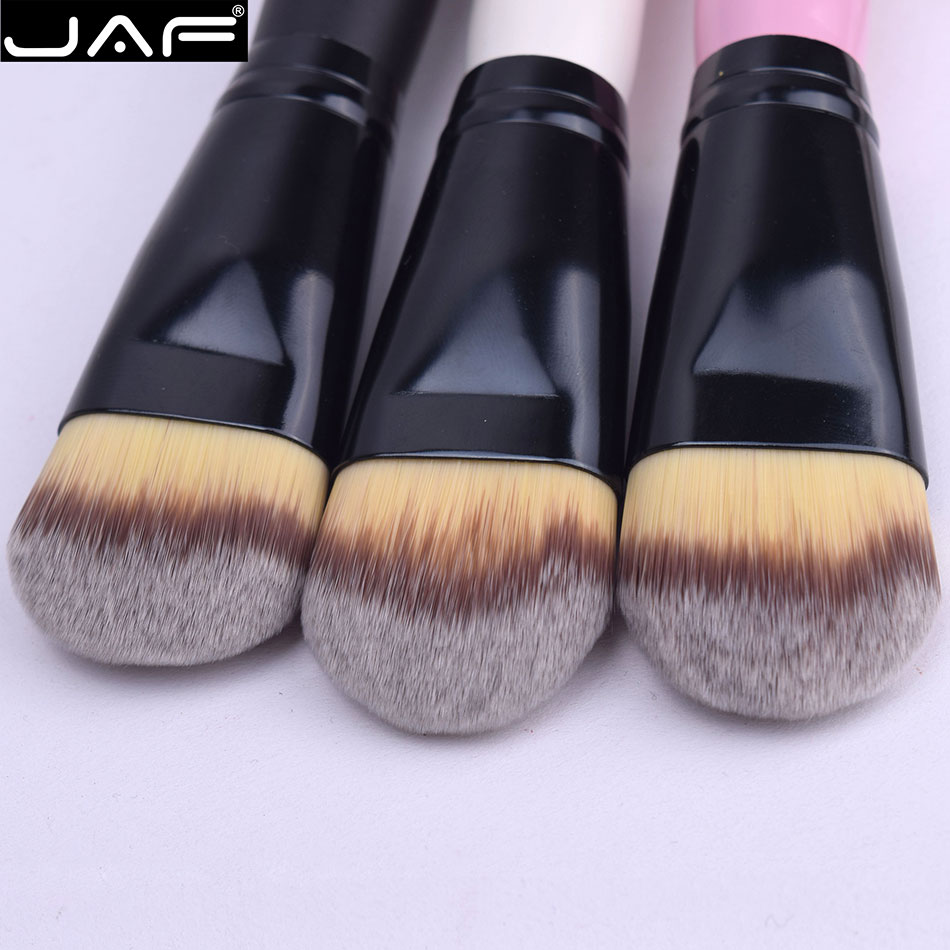 JAF 18STF Extra Large Kabuki Makeup Brush for Liquide Foundation and Face Cream Superfine Synthetic Taklon Vegan 18STF
