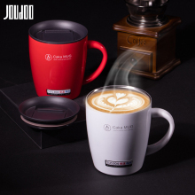 JOUDOO 380ML Stainless Steel Coffee Mug Creative Double Wall Vacuum Cup Insulated With Lid Tea Travel Drinkware35