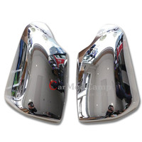 Chrome ABS Side Wing Mirror Cover Trim 2pcs For Ford EVEREST SUV 4DR 2015 2016 car styling accessories