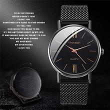 Mens Business Male Watch 2019 Fashion Classic Black Quartz Stainless Steel Wrist Watch Watches Men Clock relogio masculino 2019 цена
