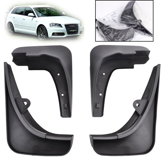 fit for 2004 2012 audi a3 sportback hatchback front rear mud flaps rh aliexpress com Audi Accessories Mud Flaps Audi TTS with Mud Flaps
