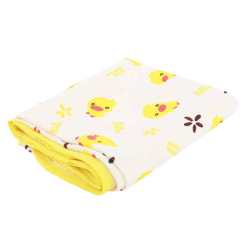 Yellow Duck Baby Changing Mat 3 Size Baby Waterproof Urine Pad Mat Cotton Washable Waterproof Bed Sheet Pad