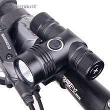 Heavy Duty Bike Front Light Bicycle Handlebar LED Headlight T6 Torch Cycling Lighting 400Lumen Battery Type Applicable #18650
