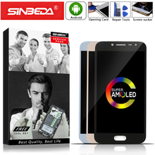 5.0 Sinbeda Super AMOLED For SAMSUNG Galaxy J250 LCD Touch Screen Digitizer J2 2018 Display SM-J250F j2Pro