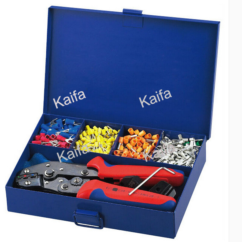 SN-02CAD Combination cable crimping tool in metal box