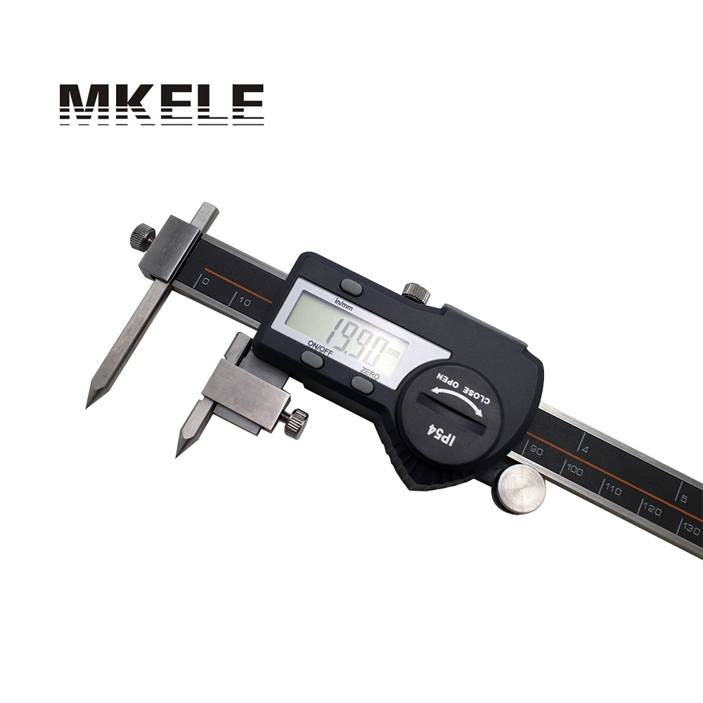 5-150mm Center Distance Digital Vernier Caliper Stainless Steel Electronic Digital Center Distance Caliper Digital Micrometer