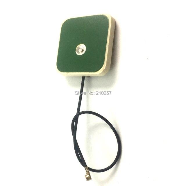 """1 יחידות 2.4 ghz Wifi קרמיקה מל""""ט מרחוק Controal אנטנת 3dbi 20x20x4 מ""""מ עם U. fl Ipex מחבר 10 ס""""מ RF1.13 כבל"""