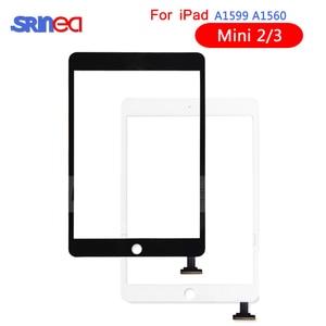 Image 1 - Touch Screen For Apple iPad Mini 3 2 Mini3 Mini2 Touch Screen Digitizer A1599 A1600 A1601A1395 A1396 A1397 With Home Button