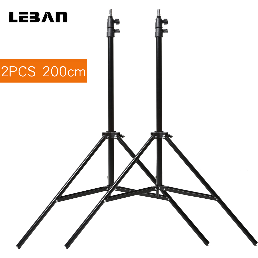 2PCS Godox 302 75 190CM Photography Light Stands for Relfectors Softboxes Lights Umbrellas Backgrounds