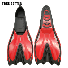 TREE BETTER Swimming Fins For Adult Diving Fins Silica gel Snorkeling Foots Long Flipper Water Sports Shoes Comfortable 36-45