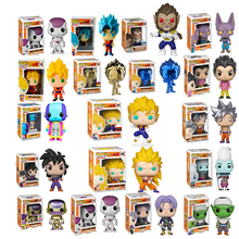 Funko Pop Anime Dragon Ball SUPER SAIYAN GOKU Collectible Model Toys FRIEZA GREAT Movie Action Figure Boy Toy