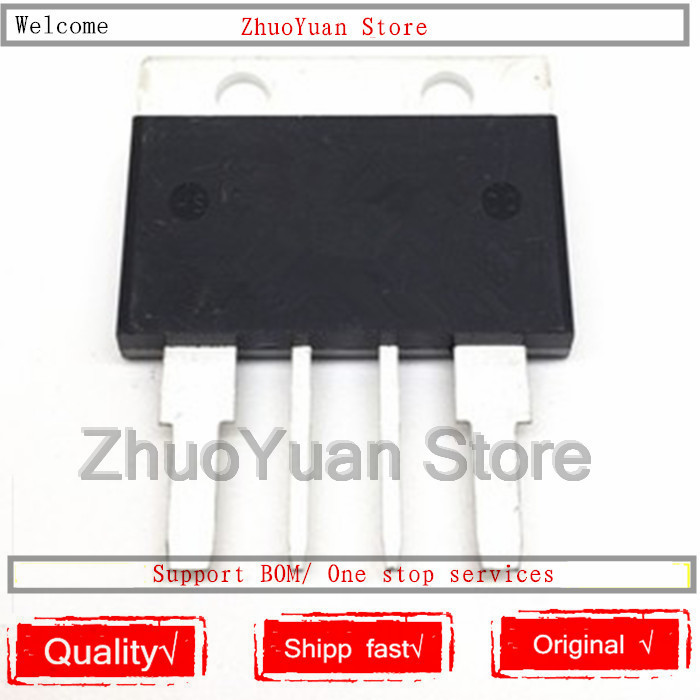 10PCS/lot  BTA100-1200B BTA1001200B 1200V 100A TO-4P SCR Transistor