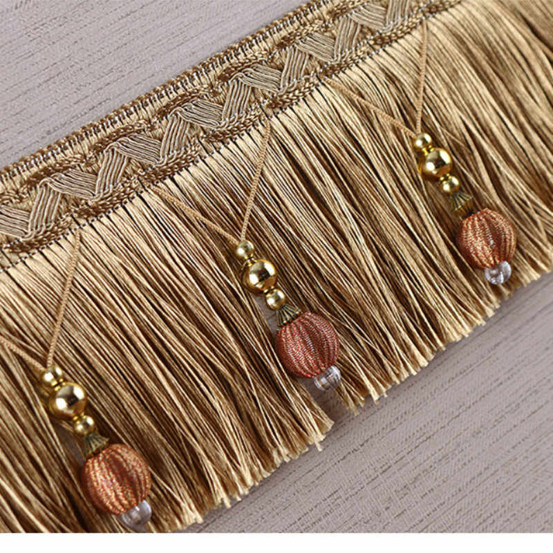 DIY Curtain Bottom Edge Spike European New Tassel Beads Lace Accessories Decorative Dragon Must Wedding Accessories