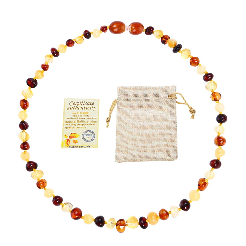 Classic 10 Colors Amber Teething Bracelet Necklace for Baby Adult Lab Tested Authentic 8 Sizes Natural Classic 10 Colors Amber Teething Bracelet/Necklace for Baby Adult Lab Tested Authentic 8 Sizes Natural Amber Stone Women Jewelry