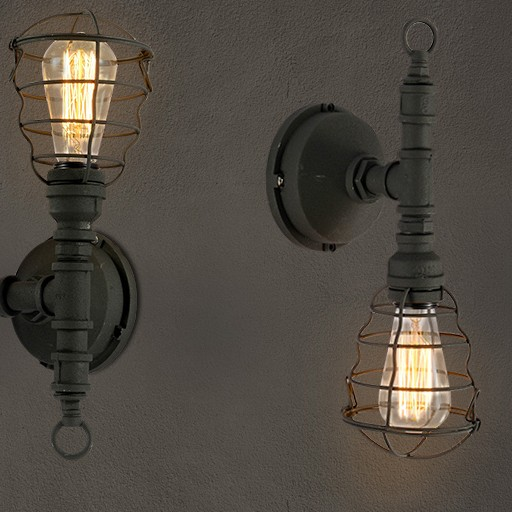 American Loft Style Industrial Vintage Wall Light For Home Antique Water Pipe Lamp Bedside Edison Wall Sconce Indoor Lighting nordic loft style industrial water pipe lamp vintage wall light for home antique bedside edison wall sconce indoor lighting