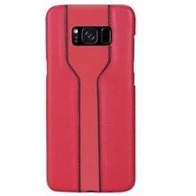 Для Samsung Galaxy S8 плюс Slim Fit чехол модные роскошные кожаные Жесткий PC задняя крышка для Samsung Galaxy S8 телефон Чехол Coque