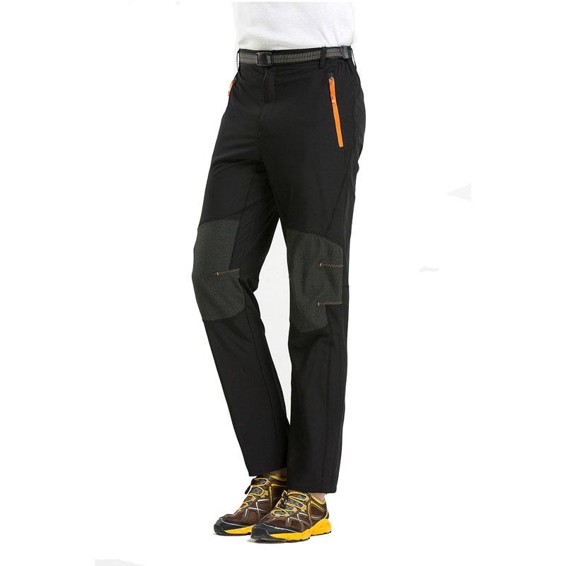4XL New Mens Summer Quick Dry Pants Male Outdoor Sport Waterproof Thin Hiking Pants Climbing Trekking Camping Trousers VA003
