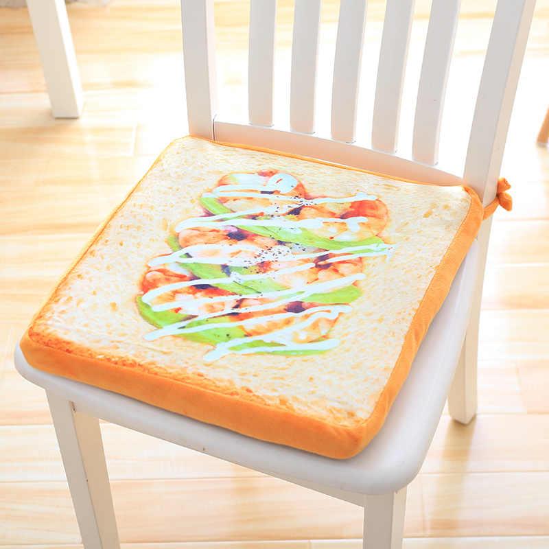 1 PC 40 Cm Simulasi Roti Mewah Bantal Lembut Boneka Bantal Cute Roti Boneka Mainan untuk Anak-anak Hadiah Dekorasi Kamar hadiah Kreatif