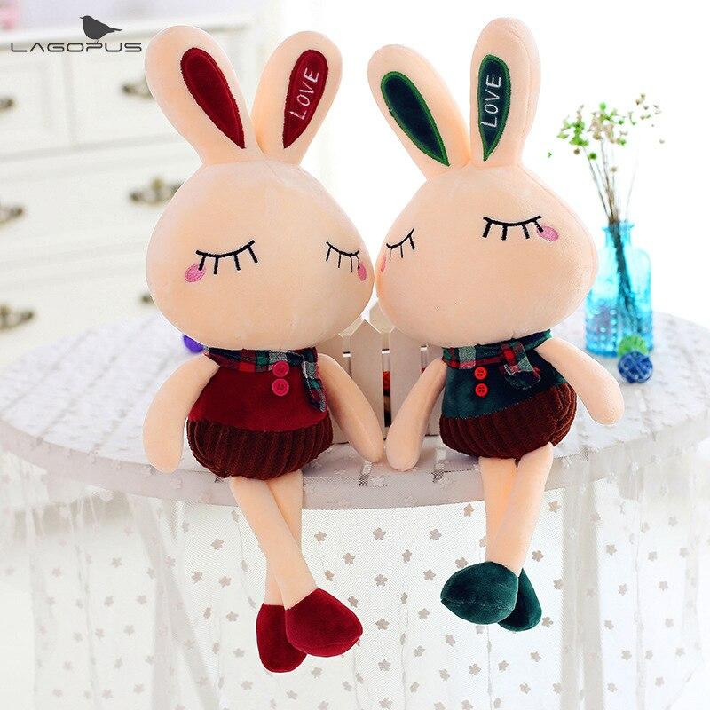 Stuffed e Plush Animais lagopus kawai 40 cm adorável Animais : Coelho