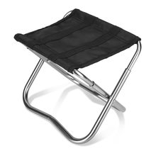 Outdoor Foldable Aluminum Alloy Fishing Chairs Ultra Light Portable Folding Fishing Picnic BBQ Garden Camping Chair(China)
