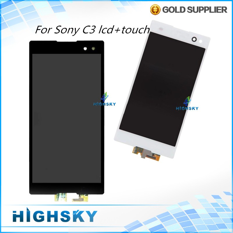 Tested Replacement Parts Display For Sony Xperia C3 D2533 D2502 LCD With Touch Screen Assembly 1