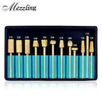 1pcs Pro Coarse 2 35mm 3 32 Alloy Smooth Top Nail Drill Bit Tools For Nail