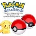 3-й/Третьего Поколения 12000 мАч Celular Зарядное Устройство III Pokeball Pokemon Go Power Bank 3 для Iphone 5s Oneplus