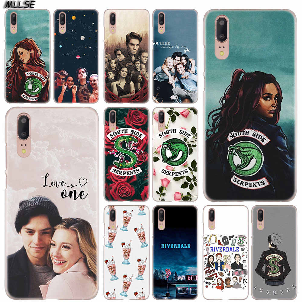 Riverdale South Side Serpents you and me Hard Case Cover for Huawei P30 P20 P10 P9 P8 Lite 2017 P30 P20 Pro Mini P Smart 2019