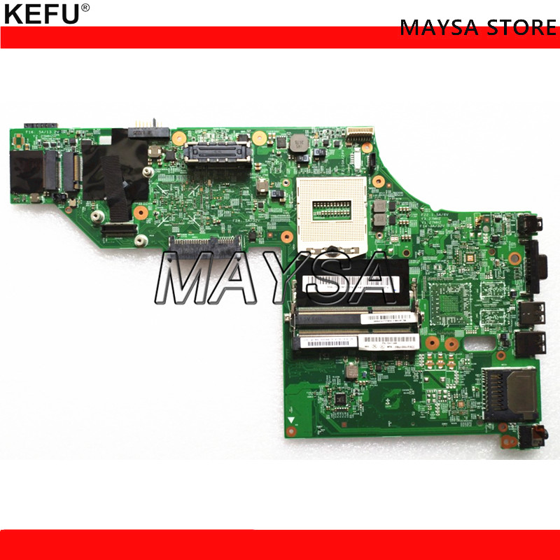 KEFU 04X5257 48.4LO16.021 Fit For lenovo Thinkpad T540 T540P Laptop motherboard HM86 DDR3L tested бусы тигровый глаз 10 мм 44 51 см биж сплав