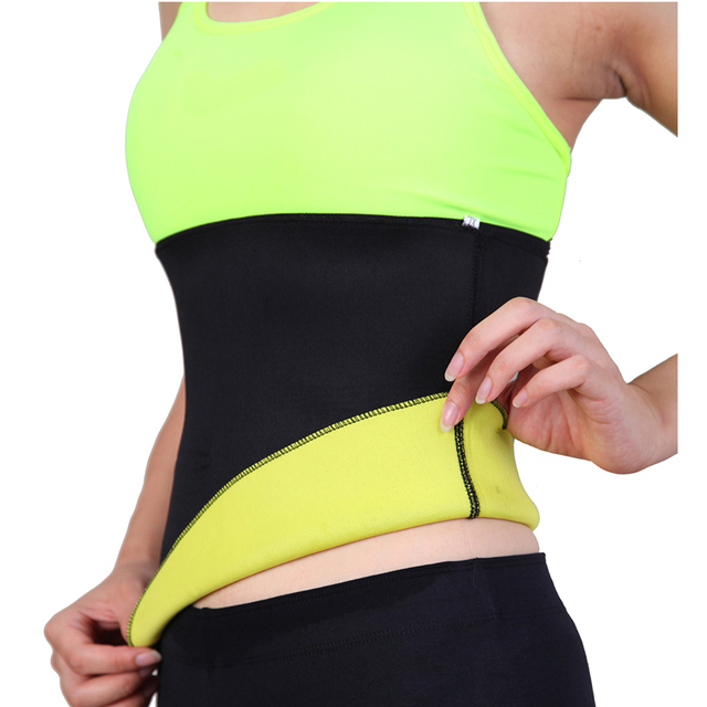Sweat Belt Neoprene Body Shaper Slimming Belts for Women Waist Trainer Cincher Underbust Corset Trimmer Tummy Control Binder 4