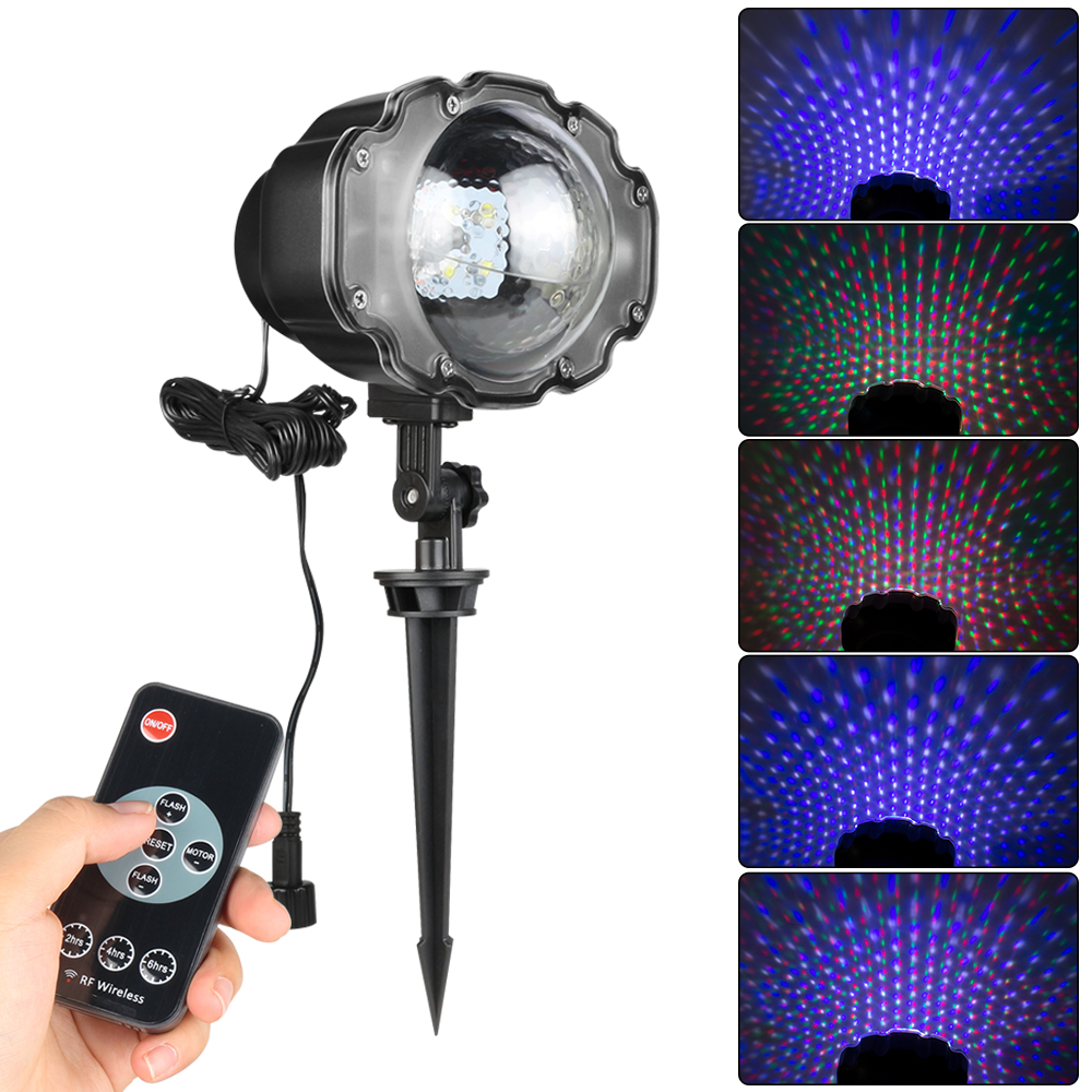 Buy snowfall led laser projector rgbw - Lights to hang on wall ...
