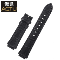Genuine Leather Watchbands For SWAROVSKI Ladies Watch Straps 20MM Women No Buckle Watch Band Female Leather