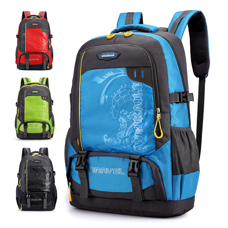 45L Waterproof Unisex Men Backpack Travel Pack Sports Bag Pack Outdoor Mountaineering Hiking Climbing Camping Backpack For Male
