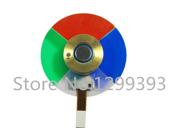 Projector Color Wheel for Dell 2300MP 3300MP w710st w770st w700 w703d projector color wheel color separations used disassemble