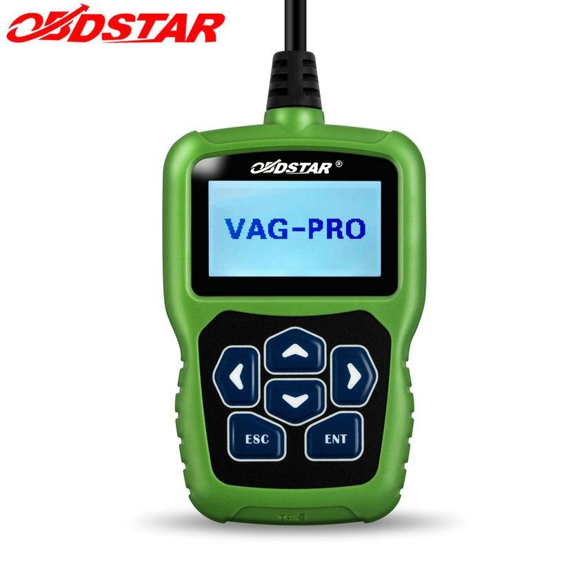 Цена за Auto key программист obdstar vag pro не нужно пин-код поддержки новая Модель Одометра Программа Ключи Дистанционного & EPB Airbag Vag Программист