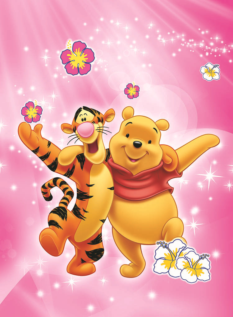 Cute pooh wallpaper impremedia winnie the pooh photo murals 3d wallpaper tapete room customize any size mural papel de parede voltagebd Gallery