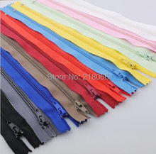Upcik Lots Color Nylon Coil Zippers Tailor Sewing Tools 8 Inch(China)
