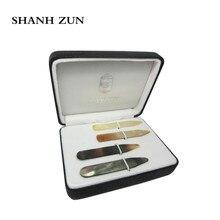 дешево!  SHANH ZUN Высокий Польский Чистый Перламутр Воротник Shell остается Свадебный Подарок для Мужчин
